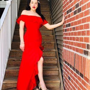 Vestido rojo para fiesta